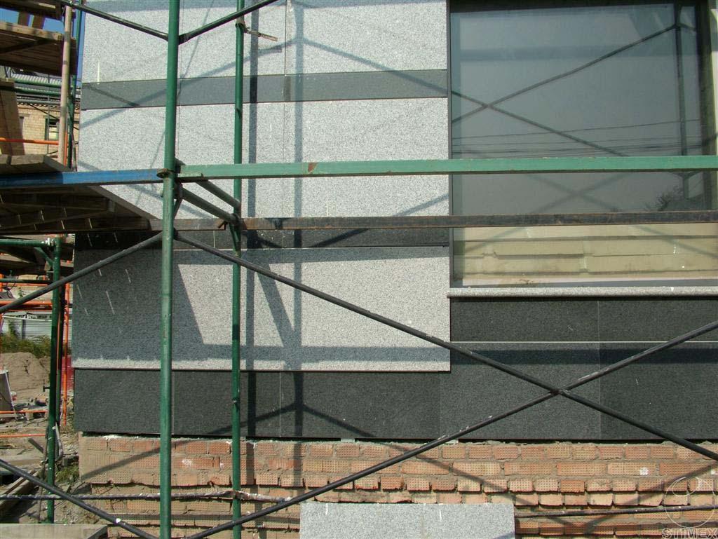 Проектирование и монтаж фасадов вентилируемого