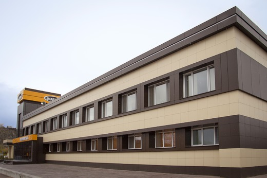 Фасады зданий фото