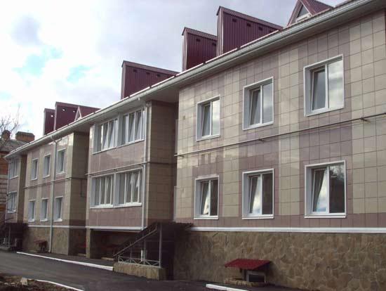 Varianty oblitsovki ventel fasada